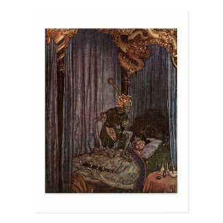 Dulac's The Nightingale Postcard