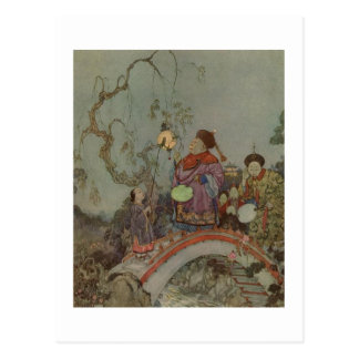 Dulac's The Nightingale Post Cards
