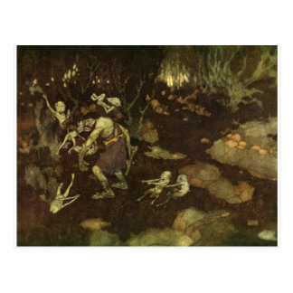 Dulac's The Tempest Post Cards