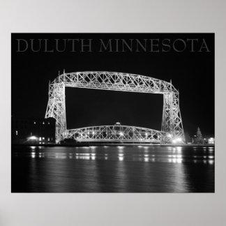 Duluth Aerial Lift Bridge photo Poster