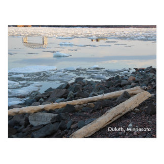 Duluth, Minnesota Post Card - customise a greeting