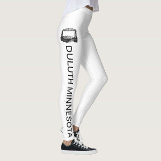 Duluth Minnesota with Aerial Lift Bridge Leggings