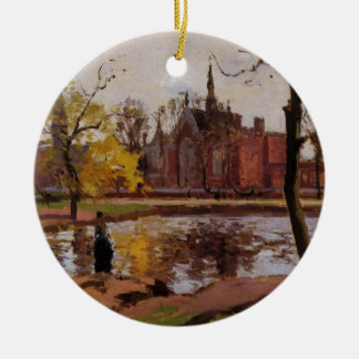 Dulwich College, London by Camille Pissarro Christmas Ornament