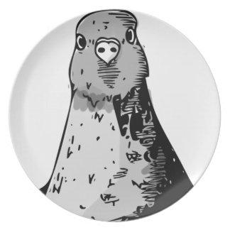 Dumb Birds Dinner Plate