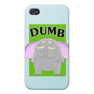 Dumb elephant cartoon iPhone 4 cases