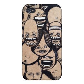 Dumb Faces iPhone 4/4S Cases