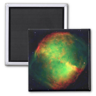 Dumbbell Nebula Constellation Vulpecula, The Fox Square Magnet