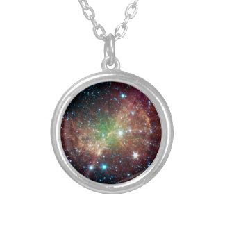 Dumbbell Nebula Custom Necklace