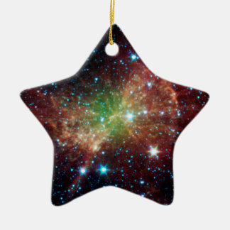 Dumbbell Nebula Infrared Space Christmas Ornaments