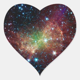 Dumbbell Nebula Infrared Space Sticker