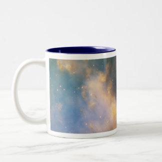 Dumbbell Nebula, The Dumbbell Nebula Two-Tone Coffee Mug