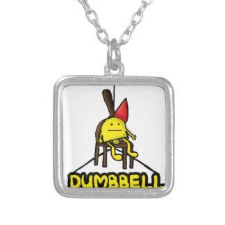 Dumbbell Pun Pendants