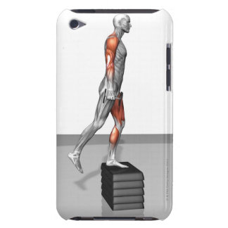 Dumbbell Step Up 4 iPod Touch Case