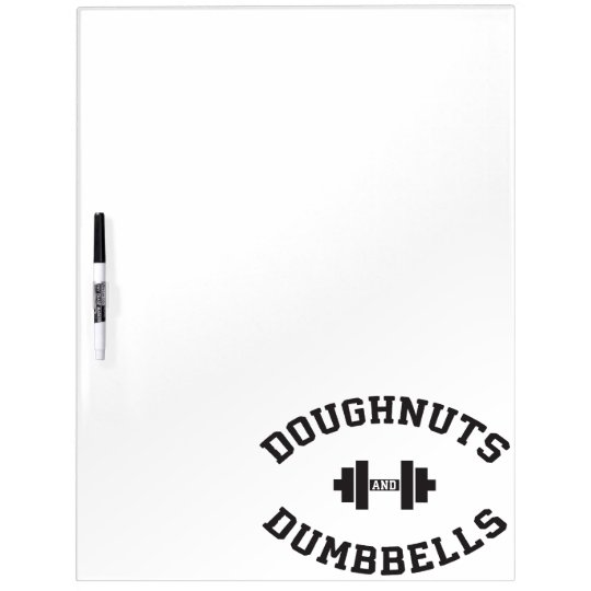 Dumbbells And Doughnuts - Funny Gym Workout Dry