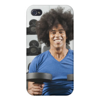 Dumbbells iPhone 4 Cover