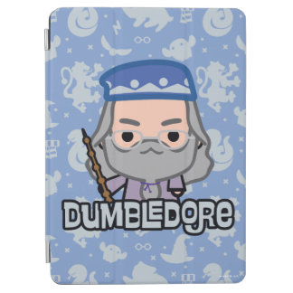 Dumbledore Cartoon Character Art iPad Air Cover