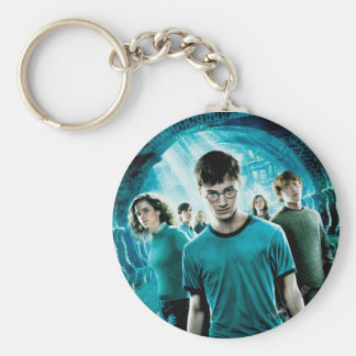 DUMBLEDORE'S ARMY™ 4 BASIC ROUND BUTTON KEY RING