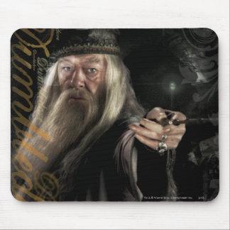 Dumbledore Script Logo Mouse Pad