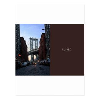 DUMBO at Dusk Postcard