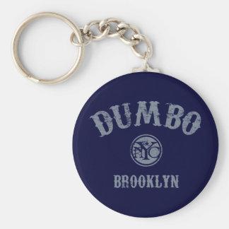 Dumbo Basic Round Button Key Ring