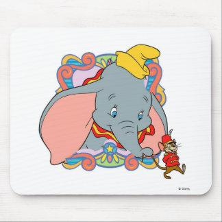 Dumbo Dumbo and Timot walking Mouse Mat