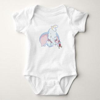 Dumbo Dumbo and Timothy Q. Mouse talking Baby Bodysuit
