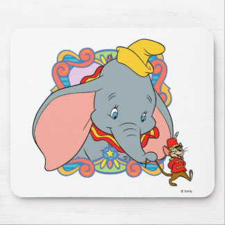 Dumbo is smiling Mouse Mat