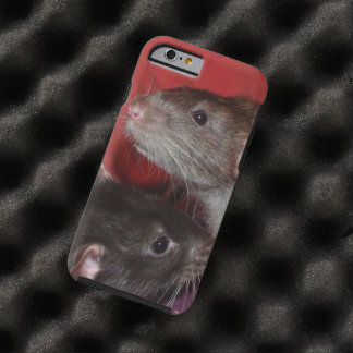 Dumbo rat brothers iPhone 6 case Tough iPhone 6 Case