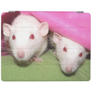 Dumbo rats in the pink iPad screen cover iPad Cover