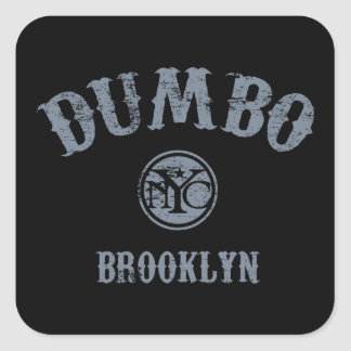 Dumbo Square Sticker