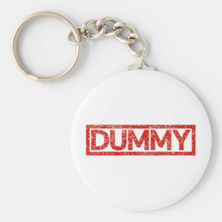 Dummy Stamp Key Ring