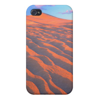 Dumont Dunes, Sand Dunes and Clouds Cover For iPhone 4