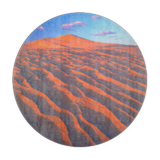 Dumont Dunes, Sand Dunes and Clouds Cutting Board