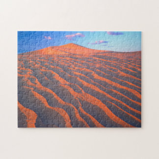Dumont Dunes, Sand Dunes and Clouds Jigsaw Puzzle