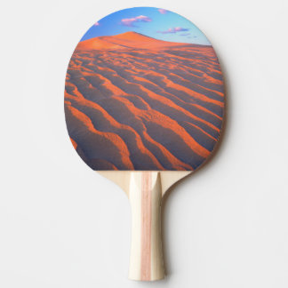 Dumont Dunes, Sand Dunes and Clouds Ping Pong Paddle