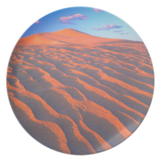 Dumont Dunes, Sand Dunes and Clouds Plate