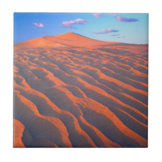 Dumont Dunes, Sand Dunes and Clouds Tile