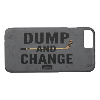 Dump and Change Hockey stick color iPhone 8/7 Case