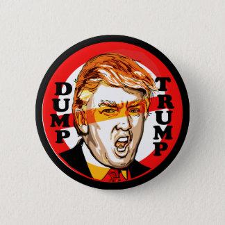 Dump Donald Trump 2016 6 Cm Round Badge