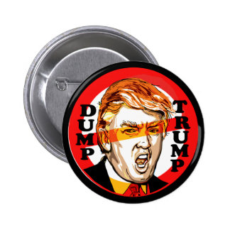 Dump Donald Trump 2016 6 Cm Round Badge