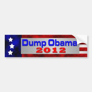 Dump Obama Bumper Sticker