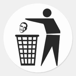 Dump Obama stickers