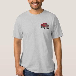 Dump Truck Embroidered T-Shirt