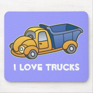 Dump Truck Kids Art Mouse Pad