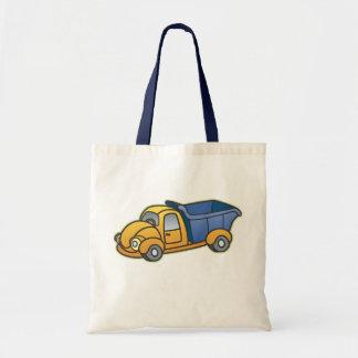 Dump Truck Kids Art Tote Bag