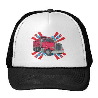 Dump Truck Stars Hats