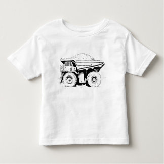 Dump Truck Toddler T-Shirt