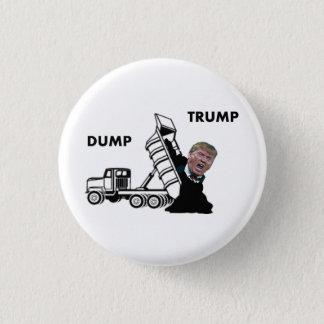 Dump Trump 3 Cm Round Badge