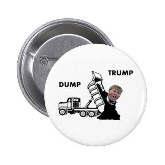 Dump Trump 6 Cm Round Badge