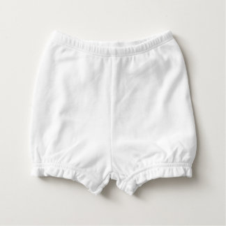 DUMP TRUMP adorable baby bloomers (back font only) Nappy Cover